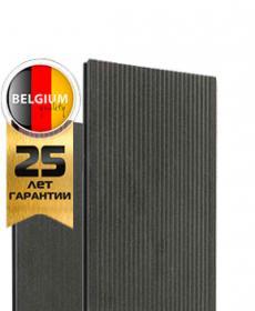 Террасная доска дпк полнотелая TWINSON MASSIVE 9360 (Бельгия) цвет 502 лакрично-черный